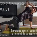 Ejercicios para el cuidado y la salud de tu espalda – PARTE 1