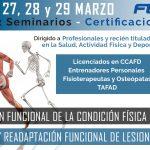 Cursos certificados FEDA impartidos por Sergio Sukunza en Osasun Sport Clinic
