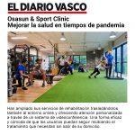 Osasun & Sport Clinic: mejorar la salud en tiempos de pandemia