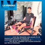 De la Bella acelera, en manos de Sergio Sukunza, su recuperación de una rotura parcial del ligamento cruzado posterior