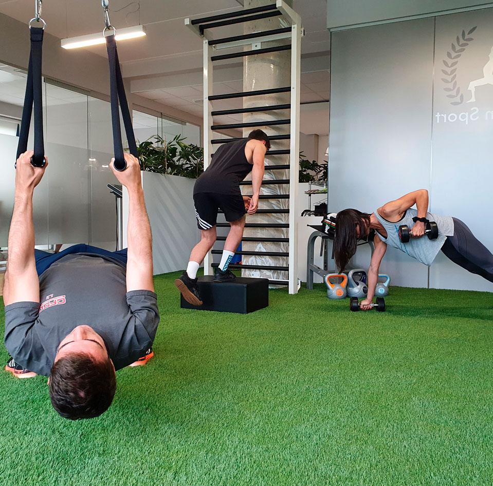 entrenamiento-grupos-reducidos-rendimiento-deportivo-osasun-sport-clinic-sergio-sukunza
